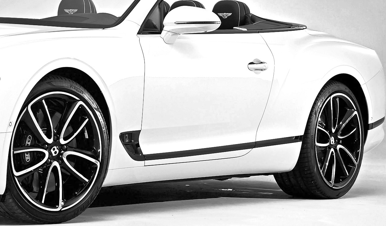 Bentley Continental GT Convertible Pirelli-Bentley Edition Tyres 21-inch & 22-inch
