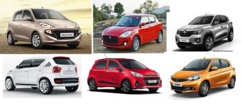 Top 5 Hatchbacks In the range of Rs. 5 Lakh