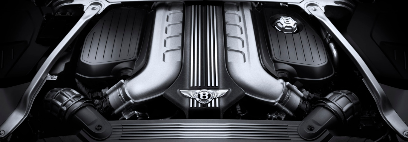 Bentley Continental GT Convertible Engine W12