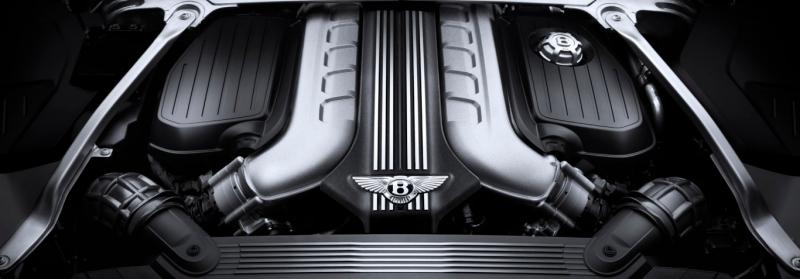 Bentley Continental GT Convertible Engine W12