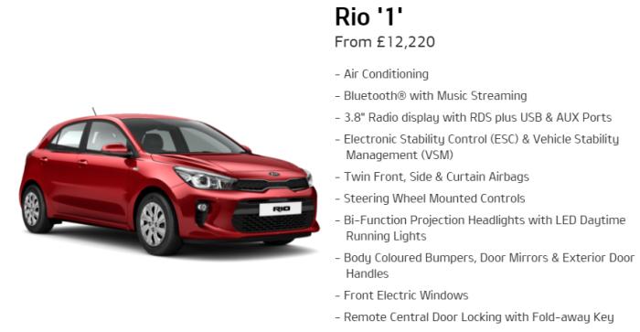 Kia Rio 1