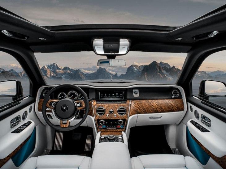 Forcinduct Rolls-Royce Cullinan Interior
