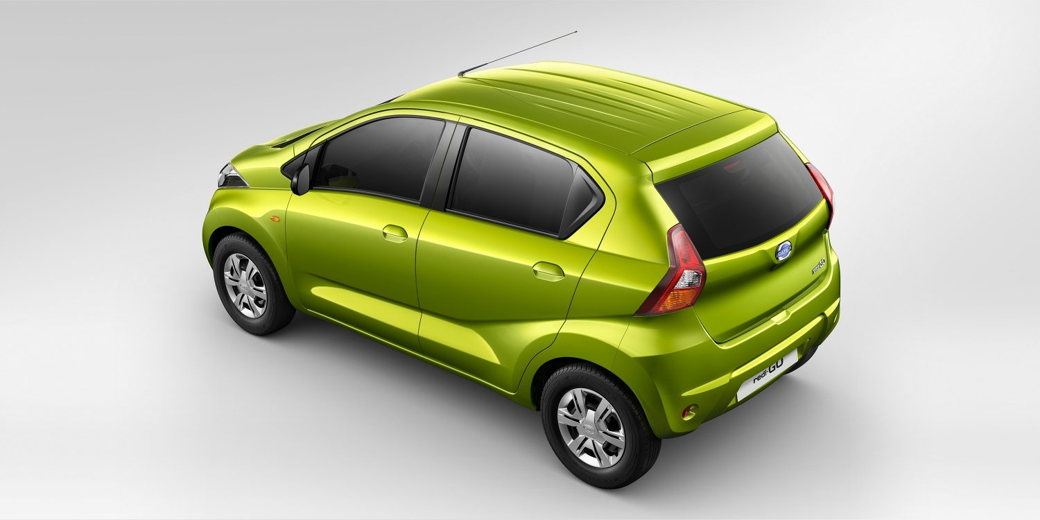 News: Datsun Redigo Facelift Exterior Rear View?