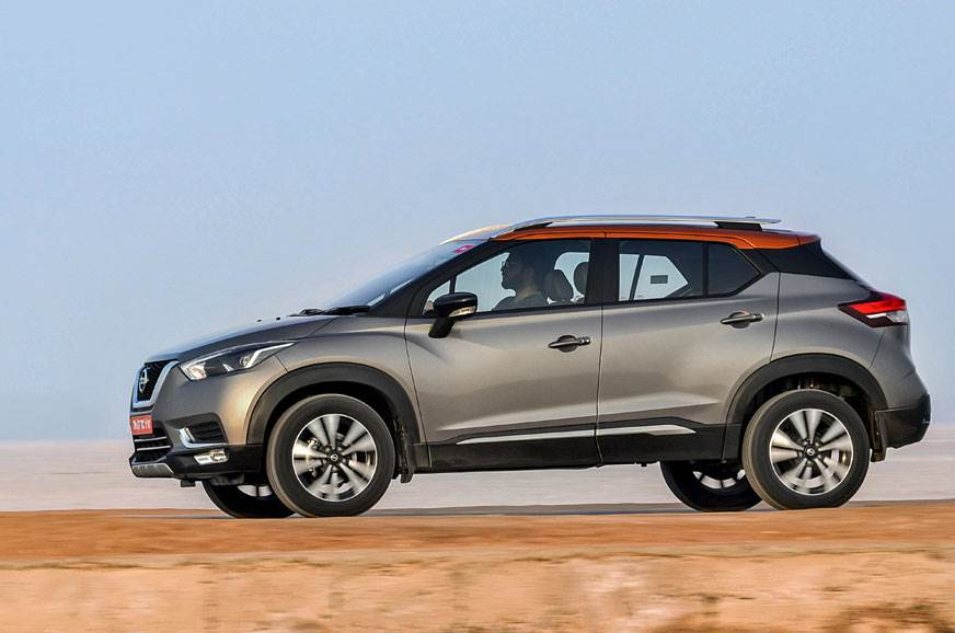 Nissan Kicks Exterior, Tyres, Side View,