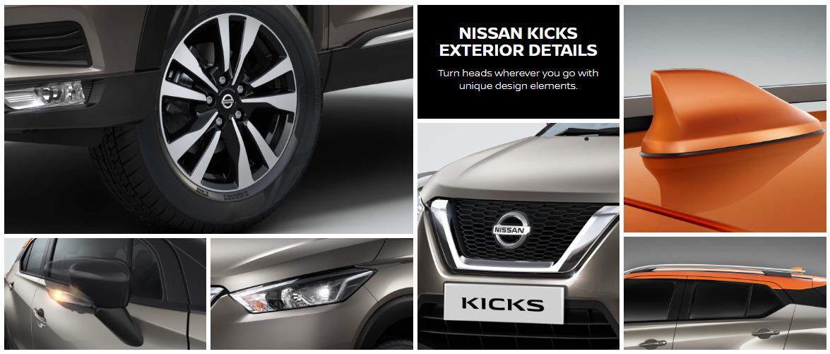 Nissan Kicks Exterior