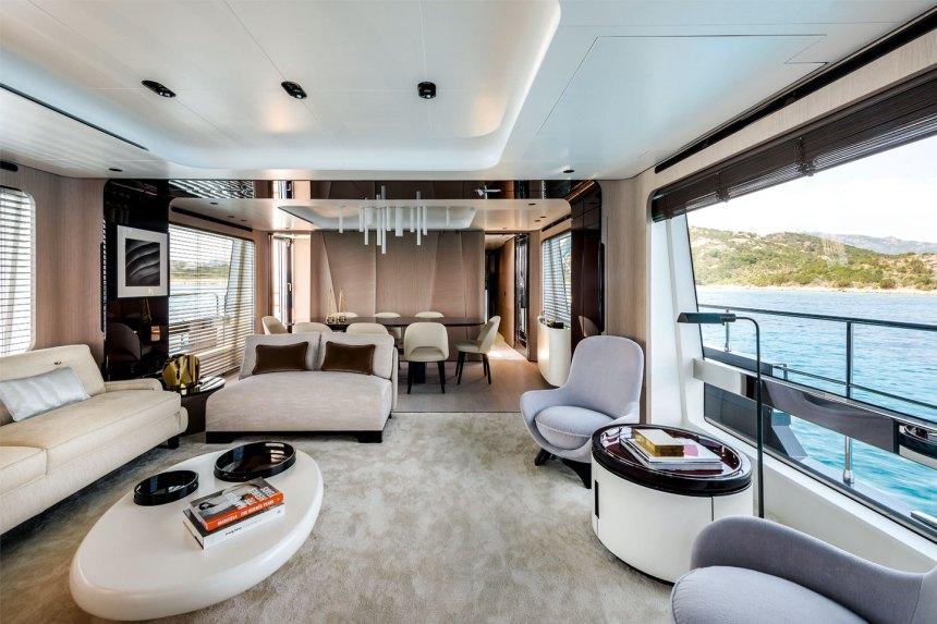 Azimut Yacht Grande 27 Metri Interior