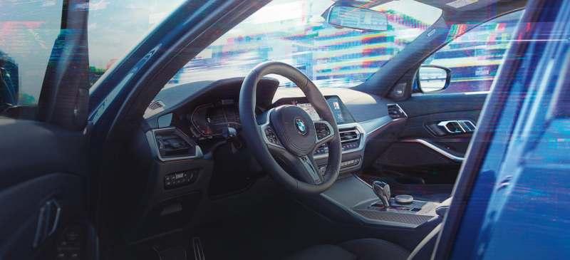 BMW 3-Series 2019 Interiors