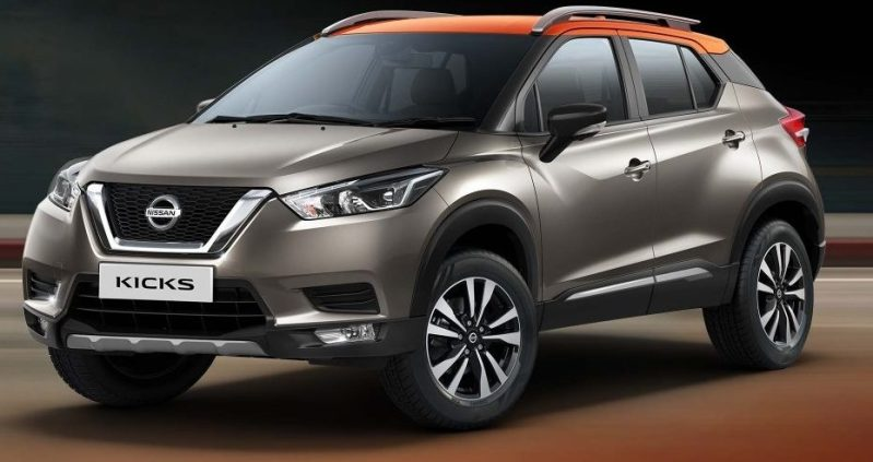 Nissan Kicks Overview side view forcinduct