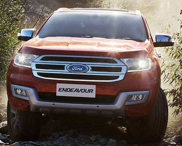 Ford Endeavour 2019 grill, headlamps, drl's, LED's