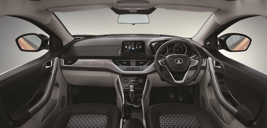 Tata Tiago XZ+ Dashboard and Interiors