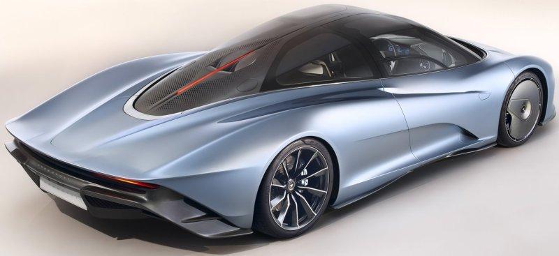 McLaren Speedtail Exterior