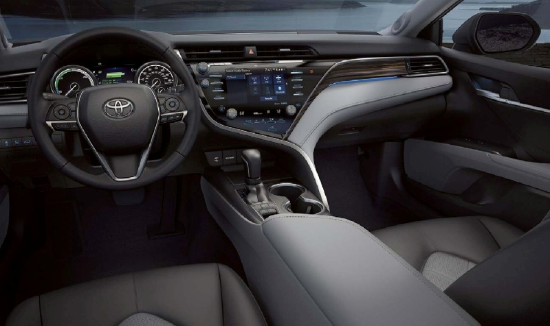 2019 Toyota Camry Interiors, Front Seats, Steering Wheel, Center Console, Night Vision, Dashboard, forcinduct