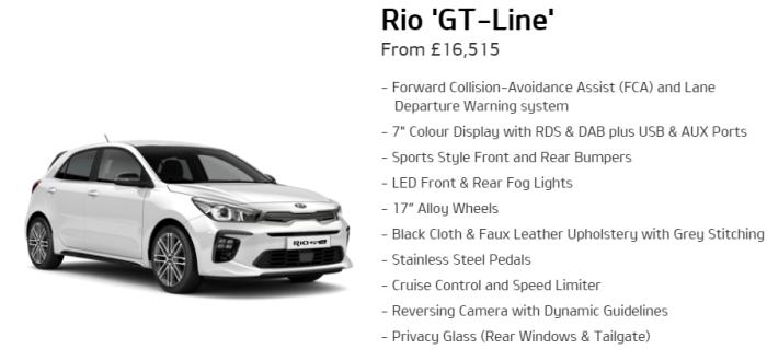 Kia Rio GT-Line
