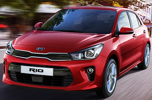 Kia Rio Bonnetr and Badge