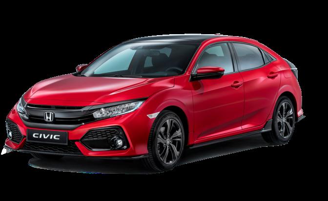 Honda Civic 2019 Red