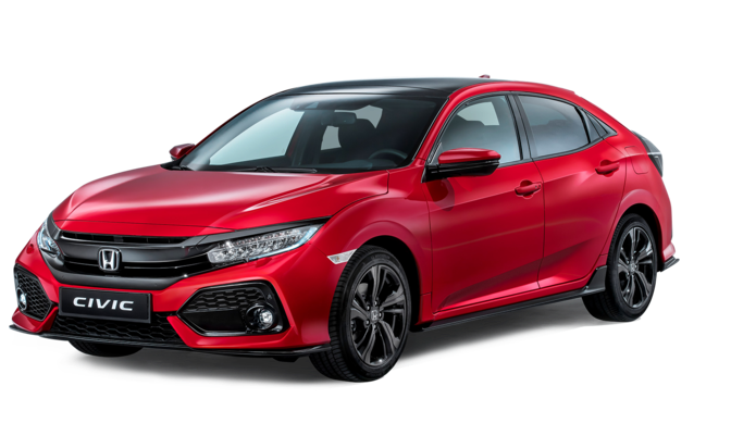 Honda Civic 2019 Red