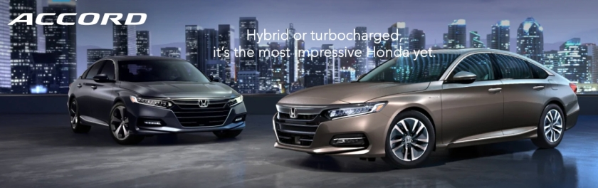 The 2019 Honda Accord ranked #1 in Midsize Cars. Currently the Honda Accord has a score of 9.0 out of 10 which is based on our evaluation of 29 pieces of research and data elements using various sources.