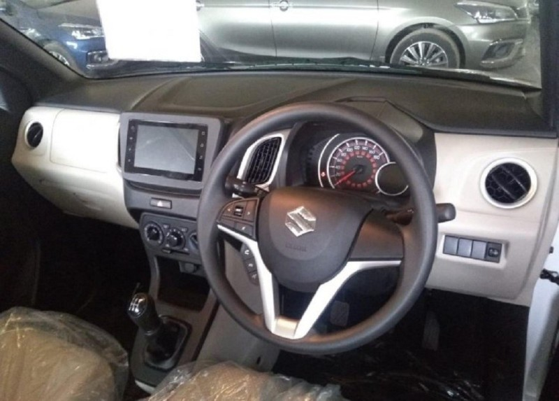 Upcoming Leaked/Spied Maruti Suzuki WagonR Interiors 2019