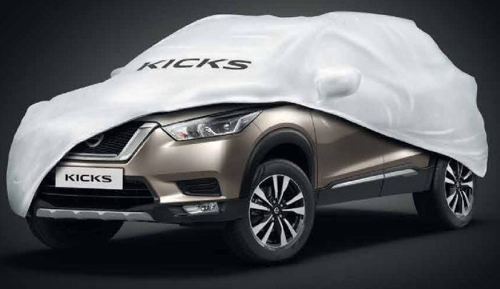 Nissan Kicks Front and Fog Lamps