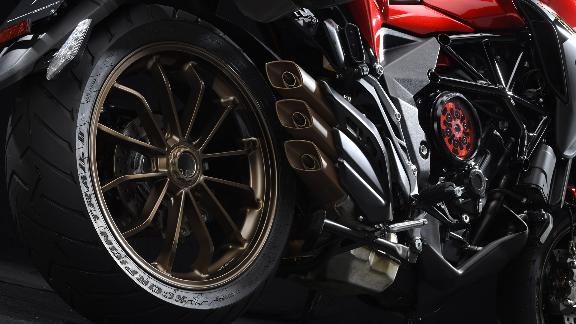 MV Agusta Turismo Veloce Lusso SCS Engine