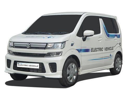 Maruti WagonR EV (Electric Vehicle) India Launch at Auto Expo2020