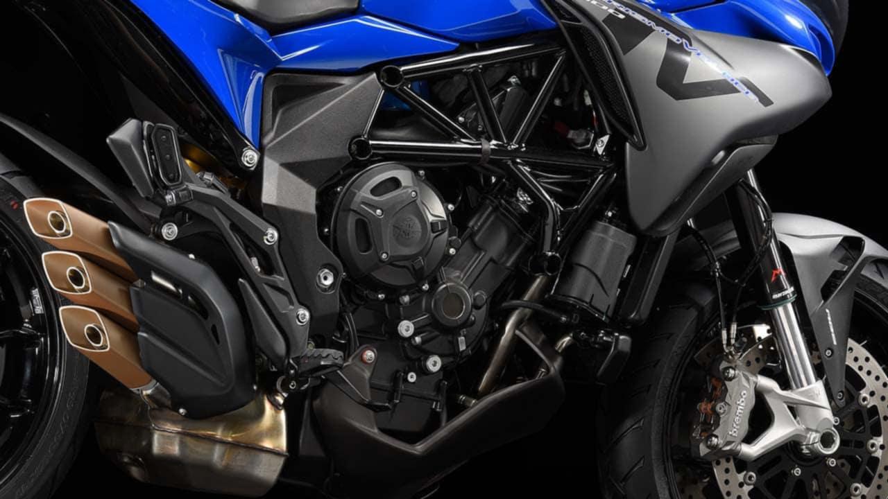 MV Agusta Turismo Veloce 800 Standard Engine and Performance