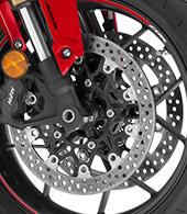 Radial-Mount Front Brakes