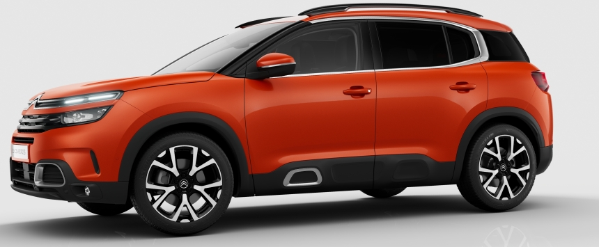 Upcoming Citroen C5 Aircross SUV Specs, Price and Gallery