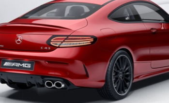 Mercedes AMG C43 Coupe: Gallery