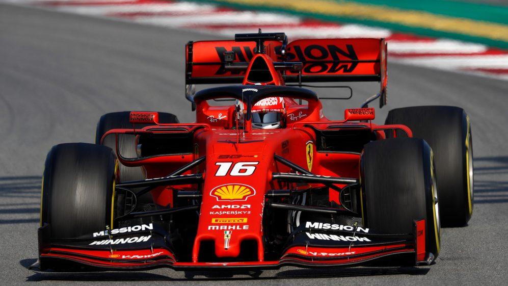 Charles Leclerc Car Ferrari SF90