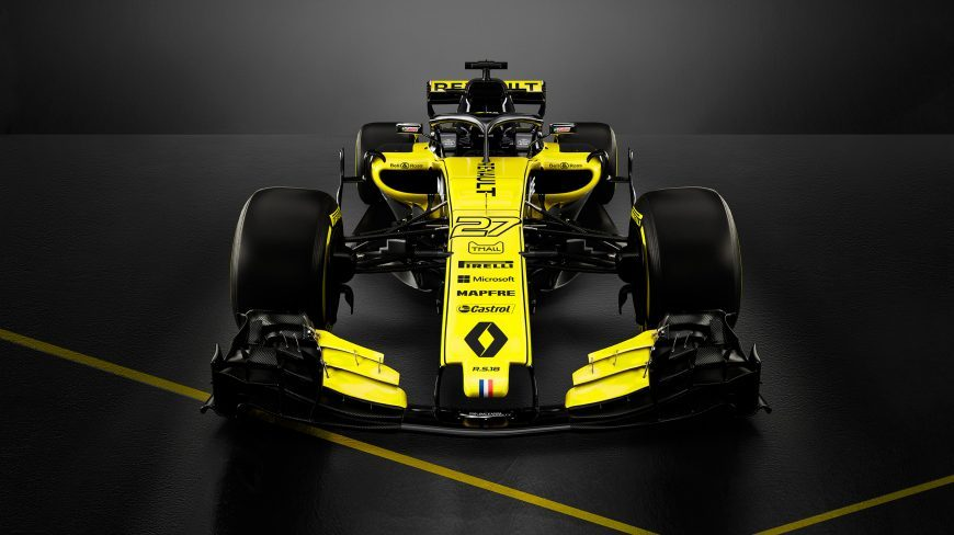 Daniel Ricciardo Car Renault R.S. 16