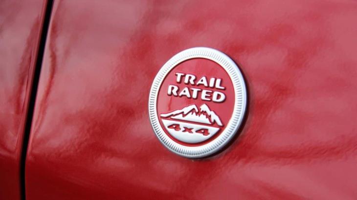 2019 Jeep Compass TrailHawk Badge