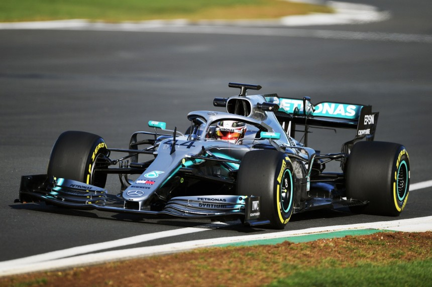 Lewis Hamilton Car Mercedes W10
