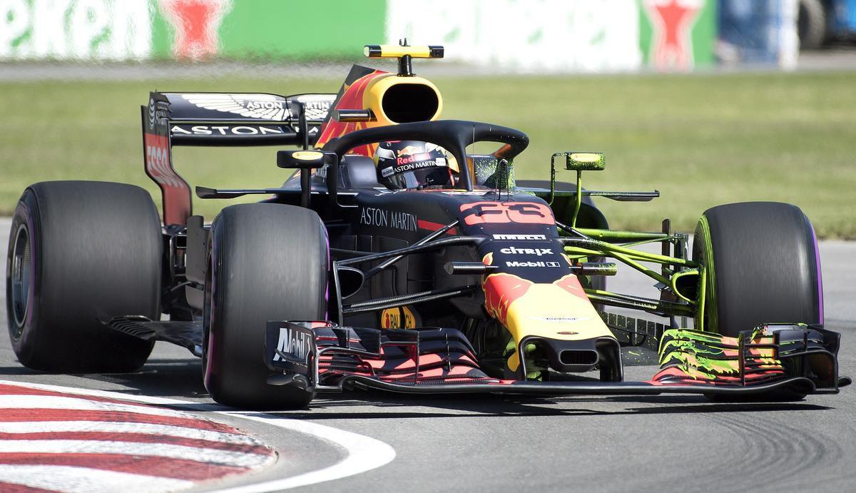 Max Verstappen Car Red Bull RB15
