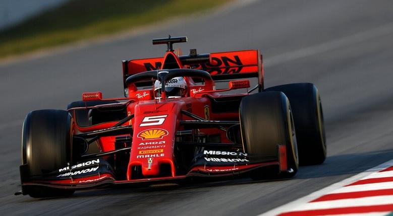 Sebastian Vettel Ferrari SF90