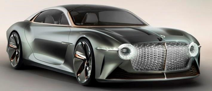 Bentley EXP 100 GT debut and features