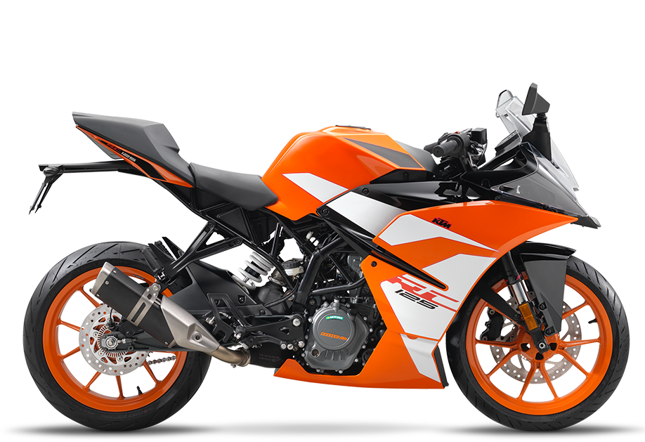 KTM RC 125 Graphics and Bodywork