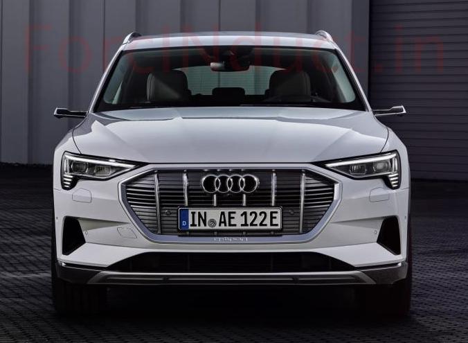 Audi e-Tron 50 Quattro Electric SUV Revealed