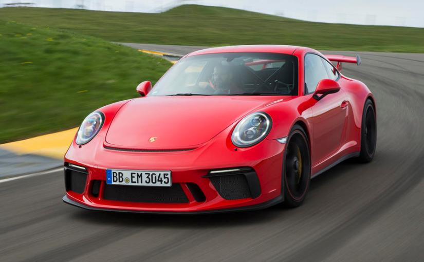 It's the 20th birthday of Porsche 911 GT3.